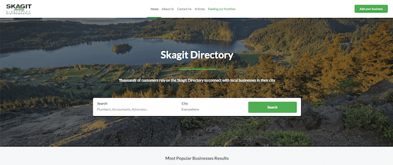 Skagit Directory home page